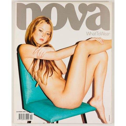 DEVON AOKI Juergen Teller EVA HERZIGOVA Nova magazine UK October 2000