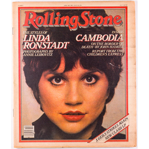 Linda Ronstadt Rolling Stone magazine The Clash 3rd April 1980
