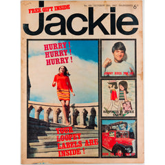 How to Chat 'em Up Jackie Magazine 26th  October 1967