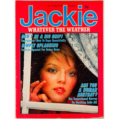 Fashion for rainy days Smoking Survey Jackie Magazine 10th April 1976