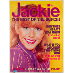 Sizzling Starsky & Hutch Pin-up Jackie Magazine 15th November 1979