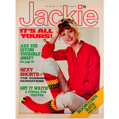 Boomtown Rats pin-up Jackie Magazine 19th  May 1979