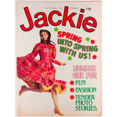 Spring Issue Jackie Magazine 11th April 1981