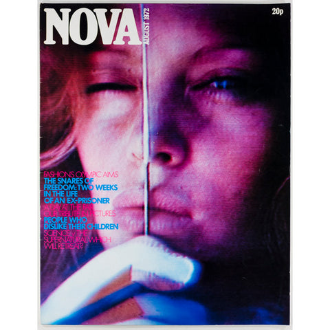 Nova Magazine UK August 1972 Fashion Olympic Aims People who dislike their children