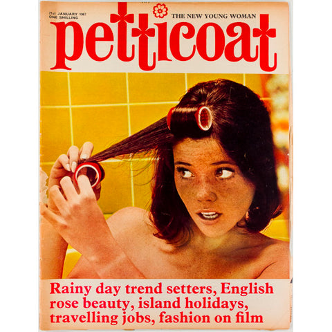 Celia Birtwell PVC Mary Quant Petticoat Magazine 21st January 1967