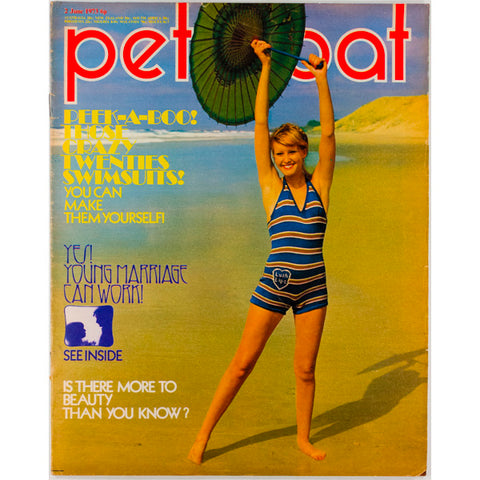 William Klein 'Bill' Swimsuit Beach Petticoat Magazine 2nd June 1973