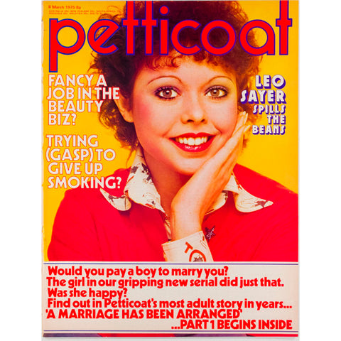 Leo Sayer Petticoat Magazine 8th March 1975