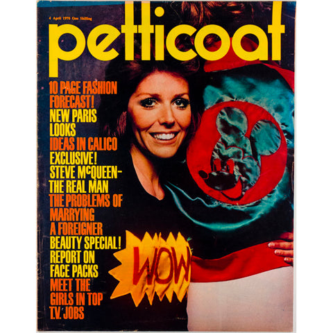 Steve McQueen the real man Wow Jumper Petticoat Magazine 1970