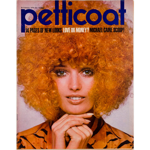 Michael Caine Afro Petticoat Magazine 28th February 1970