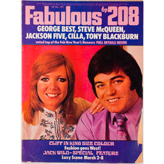 Cilla Black Tony Blackburn George Best Fabulous 208 6th March 1971