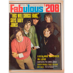 Davy Jones Lulu Chris Jones Fabulous 208 magazine 15th February 1969