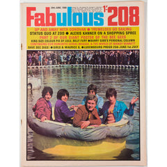 Donovan Status Quo The Bee Gees Fabulous 208 Magazine 29th June 1968
