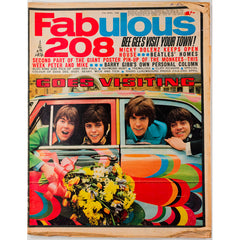 The Beatles homes Micky Dolenze Fabulous 208 magazine 27th April 1968