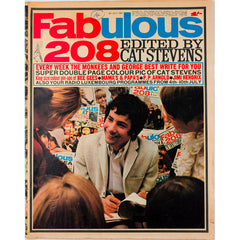 Jimi Hendrix George Best Bee Gees Fabulous 208 magazine 8th July 1967