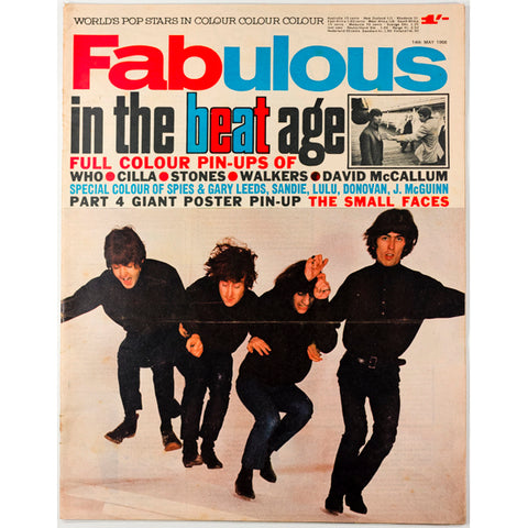 The Beat age The Beatles Fabulous magazine 14th May 1966
