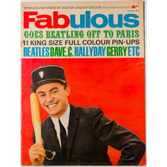 The Beatles in Paris Johnny Hallyday Fabulous magazine 28th March 1964