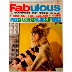 Ringo Starr Cliff Richard Fabulous magazine 15th August 1964