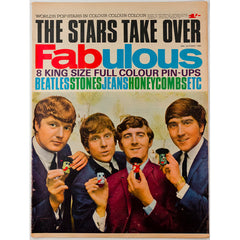 The Beatles The Rolling Stones Fabulous magazine 24th October 1964