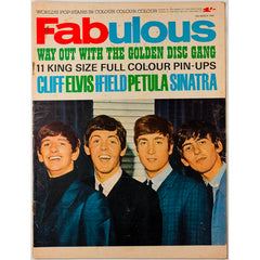 The Beatles Elvis Frank Sinatra Fabulous magazine 14th March 1964
