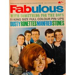The Ronettes Dusty Springfield Fabulous magazine 25th April 1964