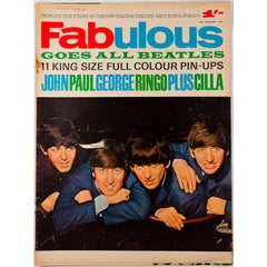 The Beatles Cilla Black Fabulous magazine 15th February 1964