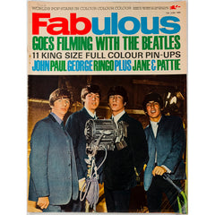 Filming with The Beatles Pattie Boyd Fabulous magazine 13th June 1964