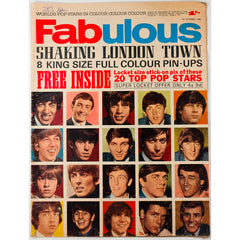 The Beatles Cliff Richard Shaking London Town Fabulous October 1964