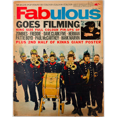 Filming The Beatles Fabulous Hank Marvin magazine 12th June 1965