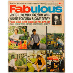 Wayne Fontana Dave Berry Fabulous magazine 25th September 1965