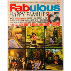 John Lennon's youth photographed Fabulous magazine 27th November 1965