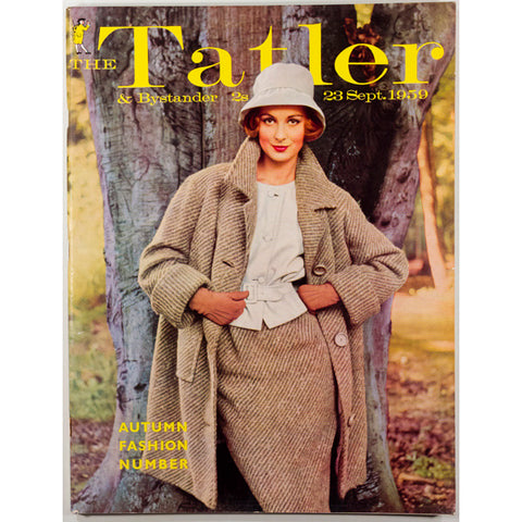 Autumn Fashion Number The Tatler 23rd September 1959