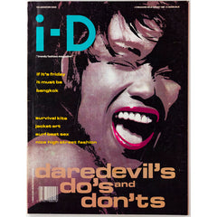 Adventure Issue Bangkok I-D Magazine August 1988
