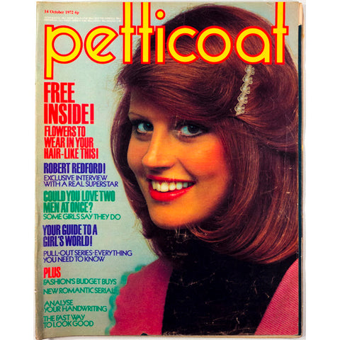 Robert Redford Exclusive interview Petticoat Magazine 14th October 1972