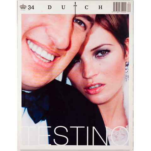 KATE MOSS Mario Testino EDWARD ENNINFUL Dutch magazine No.34 July 2001