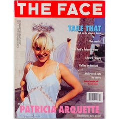 Patricia Arquette Take That Quentin Tarantino The Face December 1993