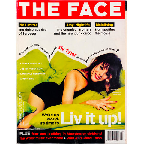 Liv Tyler Cindy Crawford  Bettina Rheims The Face February 1996