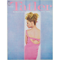 Pink Dress Profile Tatler Magazine 18th July 1962