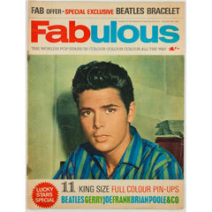 Cliff Richard The Beatles Brian Poole Fabulous magazine January 1964