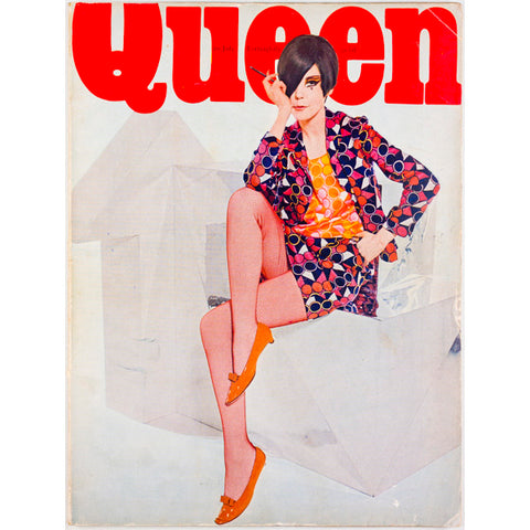 Queen magazine from 20th July 1966 - Peggy Moffitt cover