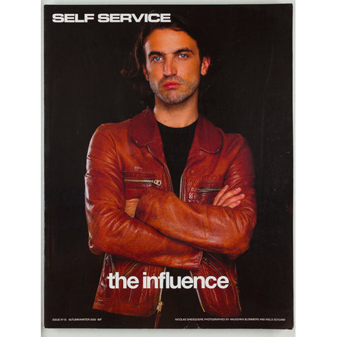 Self Service magazine no.13 Autumn Winter 2000 Nicolas Ghesquiere Hedi Slimane