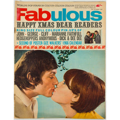 Marianne Faithful George Harrison Fabulous magazine 25th December 1965