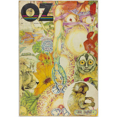 John Hurford Timothy Leary Psychedelic Illustration Oz Magazine No 45