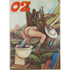 A Clockwork Orange Illustrated Oz Magazine No. 46 January 1973 Vtg