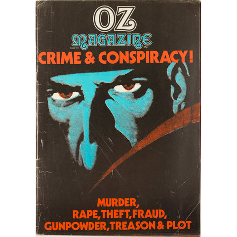 Martin Sharp Crime and Conspiracy issue of Oz Magazine No 41 1972
