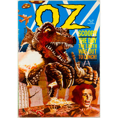 Abbie Hoffman Black Panthers Godzilla Junkies Oz Magazine No 38 1971
