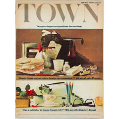 Should I raise my son to be a foreign correspondent Town magazine 1966