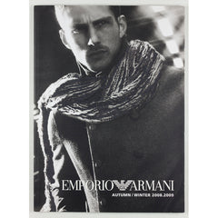EMPORIO ARMANI Mert & Marcus Lookbook Winter 2008 2009 Matt Loewen