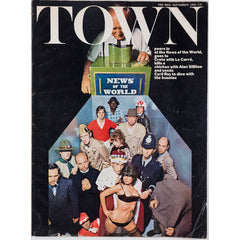 Alan Sillitoe News Of The World Town magazine September 1966
