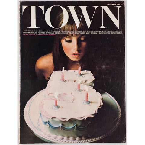 Richard Condon William Trevor Jonathan Miller Town magazine November 1965