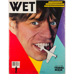 Mick Jagger Captain Beefheart  Wet magazine Travel Issue May 1980